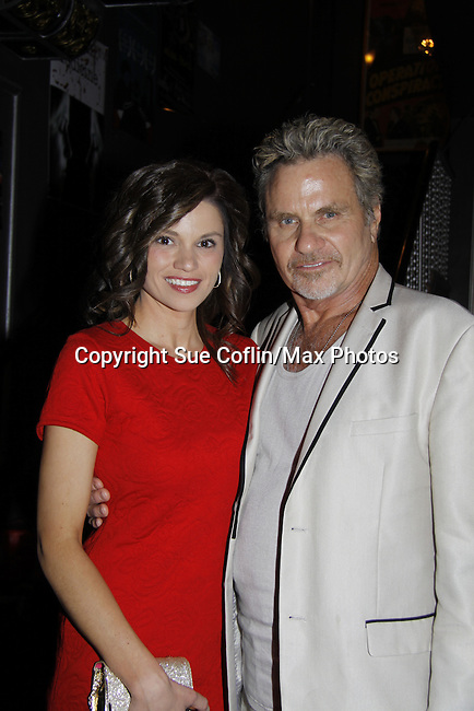 """The film """"Price for Freedom"""" worldwide premiere starring Mandy Bruno (GL) and also Martin Kove (Edge of Night) shown on this night  - 10th Anniversary of the Hoboken International Film Festival on May 29, 2015 at the Paramount Theatre, Middletown, NY - runs through June 4. (Photos by Sue Coflin/Max Photos)"""