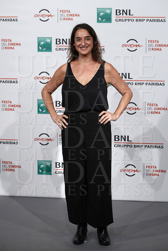 "La regista argentina Barbara Sarasola-Day posa durante il photocall per la presentazione del suo film ""White Blood"" al Festival Internazionale del Film di Roma, 19 ottobre 2018.<br /> Argentinian director Barbara Sarasola-Day poses during the photocall of her movie ""White Blood"" during the international Rome Film Festival at Rome's Auditorium, on October 19, 2018.<br /> UPDATE IMAGES PRESS/Isabella Bonotto"