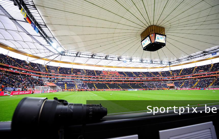 Fifa Women's World Cup Germany 2011 : Japan - USA  at Commerzbank Arena Frankfurt : breedview van het stadion.foto DAVID CATRY / Vrouwenteam.be
