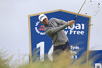 Bernd Wiesberger (AUT) tees off the par3 16th tee during Saturday's Round 3 of the Dubai Duty Free Irish Open 2019, held at Lahinch Golf Club, Lahinch, Ireland. 6th July 2019.<br /> Picture: Eoin Clarke | Golffile<br /> <br /> <br /> All photos usage must carry mandatory copyright credit (© Golffile | Eoin Clarke)