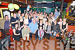 Maureen McCormick, Aghadoe, Killarney, pictured with her family and some of her many friends as she celebrated her 50th birthday in the Golden Nuggett, Fossa on Saturday night. ........