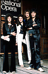 Queen 1976 Brian May, John Deacon, Roger Taylor and Freddie Mercury