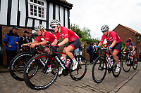 Picture by Alex Whitehead/SWpix.com - 13/05/2018 - British Cycling - HSBC UK National Women's Road Series - Lincoln Grand Prix - Megan Barker, Ellie Dickinson and Rhona Callander of Team Breeze.