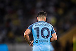 Manchester City striker Sergio Aguero during the 2016 International Champions Cup China match against Borussia Dortmund at the Shenzhen Stadium on 28 July 2016 in Shenzhen, China. Photo by Victor Fraile / Power Sport Images