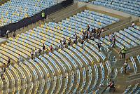 RIO DE JANEIRO, RJ, 17.02.2019 - VASCO-FLUMINENSE - Torcida do Vasco durante partida contra o Fluminense em jogo válido pela final da Taça Guanabara do Campeonato Carioca 2019 no estádio do Maracanã no Rio de Janeiro, neste domingo, 17. (Foto: Clever Felix/Brazil Photo Press)