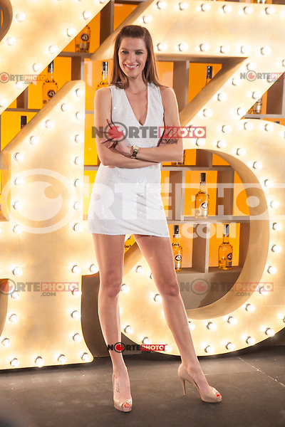 Spanish model Laura Sanchez poses during Licor 43 presentation in Madrid, Spain. January 29, 2015. (ALTERPHOTOS/Victor Blanco) /nortephoto.com<br />