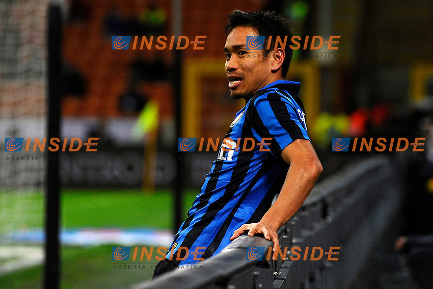 Yuto Nagotomo Inter<br /> Milano 03-02-2016 Stadio Giuseppe Meazza - Football Calcio Serie A Inter - Chievo Verona. Foto Giuseppe Celeste / Insidefoto