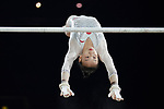 Gymnastics World Cup  23.3.19. World Resorts Arena. Birmingham UK.  Jieyu Liu (CHN) in action