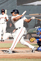 Chuckie Jones - San Francisco Giants - 2010 Instructional League.Photo by:  Bill Mitchell/Four Seam Images..