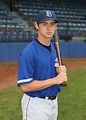 July 14th, 2007:  Matt Angle of the Aberdeen Ironbirds, Class-A Short-Season affiliate of the Baltimore Orioles, poses before a game vs the Jamestown Jammers in New York-Penn League action.  Photo Copyright Mike Janes Photography 2007.