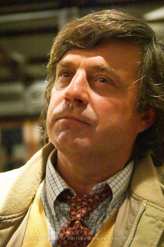 Daniel Mutio of Bodega Santa Rosa winery, Montevideo, Uruguay, South America