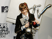 København, 20061102. MTV Europe Music Awards. Blog 27.