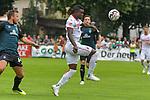 20.07.2018, Zillertalarena, Zell am Ziller, AUT, FSP, 1.FBL, SV Werder Bremen (GER) vs 1. FC Koeln (GER), im Bild<br /> Sehrou Guirassy (Koeln #19)<br /> Kevin Möhwald / Moehwald (Neuzugang SV Werder Bremen #06)<br /> Philipp Bargfrede (Werder Bremen #44)<br /> <br /> Foto © nordphoto / Kokenge