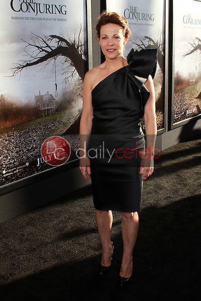 Lili Taylor<br /> at &quot;The Conjuring&quot; Los Angeles Premiere, Cinerama Dome, Hollywood, CA 07-15-13<br /> David Edwards/DailyCeleb.Com 818-249-4998