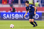Shibasaki Gaku of Japan in action during the AFC Asian Cup UAE 2019 Quarter Finals match between Vietnam (VIE) and Japan (JPN) at Al Maktoum Stadium on 24 January 2018 in Dubai, United Arab Emirates. Photo by Marcio Rodrigo Machado / Power Sport Images