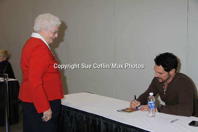 The Bold and the Beautiful Don Diamont and fans at the Soapstar Spectacular starring actors from OLTL, Y&R, B&B and ex ATWT & GL on November 20, 2010 at the Myrtle Beach Convention Center, Myrtle Beach, South Carolina. (Photo by Sue Coflin/Max Photos)