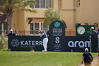 Soren Kjeldsen (DEN) on the 8th during Round 3 of the Saudi International at the Royal Greens Golf and Country Club, King Abdullah Economic City, Saudi Arabia. 01/02/2020<br /> Picture: Golffile | Thos Caffrey<br /> <br /> <br /> All photo usage must carry mandatory copyright credit (© Golffile | Thos Caffrey)