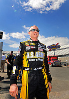 May 30, 2008; Dover, DE, USA; Nascar Sprint Cup Series driver Mark Martin during qualifying for the Best Buy 400 at the Dover International Speedway. Mandatory Credit: Mark J. Rebilas-