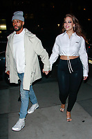 JAN 17 Ashley Graham and Justin Ervin Seen In New York City
