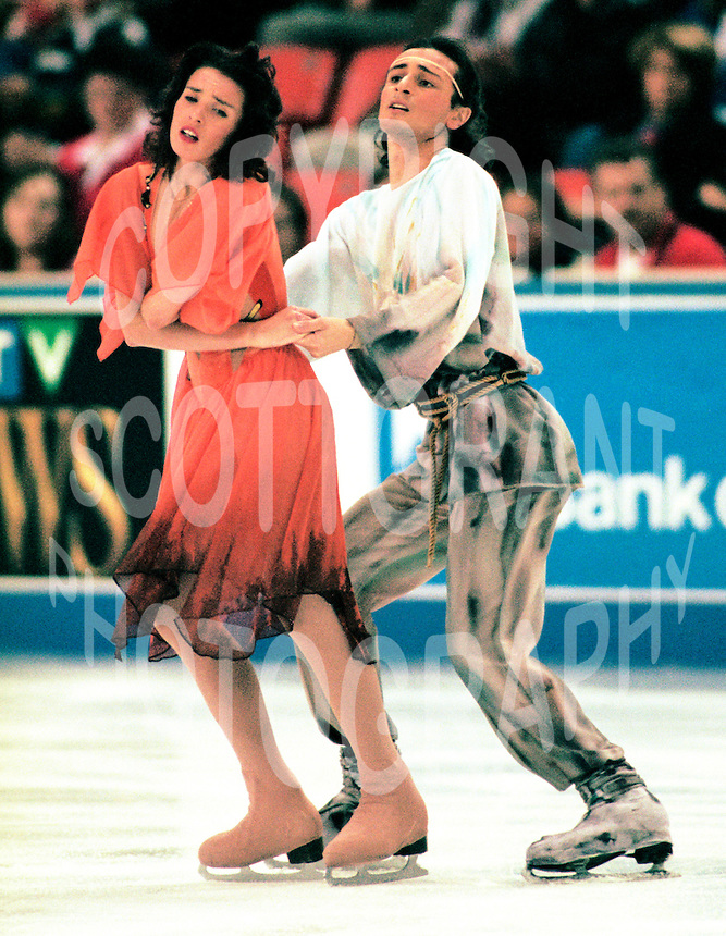 Irina Lobacheva and Ilia Averbukh Skate Canada. Photo Scott Grant.
