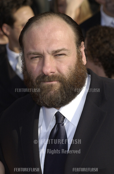 JAMES GANDOLFINI at the 9th Annual SCREEN ACTORS GUILD AWARDS in Los Angeles..March 9, 2003.