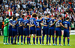Manchester United players take part on a minutes silence during the UEFA Europa League Final match at the Friends Arena, Stockholm. Picture date: May 24th, 2017.Picture credit should read: Matt McNulty/Sportimage