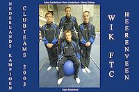 TURNEN: HEERENVEEN: 2003, Turnhal, Epke, Herre en Johan Zonderland, Martin Holtrop, ©foto Martin de Jong