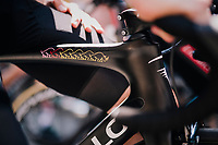 Chris Froome (GBR/SKY), winner of 6 grand tours, at the race start in Luchon<br /> <br /> Stage 17: Bagn&egrave;res-de-Luchon &gt; Saint-Lary-Soulan (65km)<br /> <br /> 105th Tour de France 2018<br /> &copy;kramon