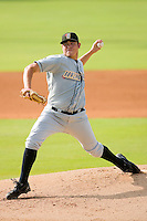 Starting pitcher Matt Moore #36 of the Bowling Green Hot Rods in action versus the Kannapolis Intimidators at Fieldcrest Cannon Stadium August 23, 2009 in Kannapolis, North Carolina. (Photo by Brian Westerholt / Four Seam Images)