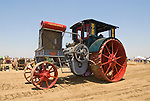 Annual ACMOC Caterpillar Tractor show at the Best Ranch near Woodland, CA..tractor parade