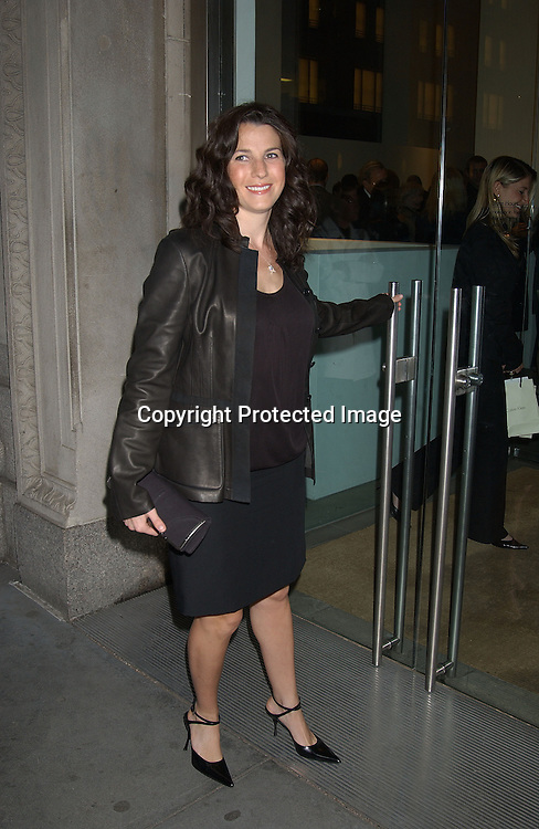 JESSICA SEINFELD                       . AT THE SAFE HORIZON COCKTAIL PARTY ON APRIL 21,2003 IN NYC. .PHOTO BY ROBIN PLATZER,TWIN IMAGES