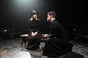 """""""Doubt - a Parable"""", written by John Patrick Shanley and directed by Che Walker, opens at Southwark Playhouse. Picture shows: Clare Latham (Sister James), Jonathan Chambers (Father Brendan Flynn)"""