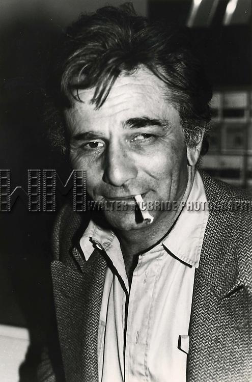 Peter Falk 1985 in New York City.