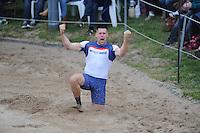 FIERLJEPPEN: BURGUM: 21-05-2016, Fierljeppen, Bart Helmholt, 21.08m, ©foto Martin de Jong