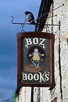 Großbritannien, Wales, Hay on Wye, Second hand Buchladen.bookshop