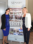 Sales and Events Manager Angela Dyas with Cllr Sharon Tolan at the opening of the new Village Hotel in Bettystown. Photo:Colin Bell/pressphotos.ie