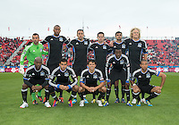 24 March 2012: The San Jose Earthquakes starting eleven during a game between the San Jose Earthquakes and Toronto FC at BMO Field in Toronto..The San Jose Earthquakes won 3-0..
