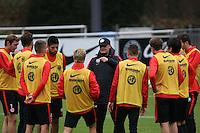 02.12.2015: Eintracht Frankfurt Training