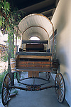 Old stage coaches at the Santa Ynez Historic Museum, Santa Barbara County, California