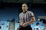 21 November 2013: Referee Bonnie Pettus. The University of North Carolina Tar Heels played the Coastal Carolina University Chanticleers in an NCAA Division I women's basketball game at Carmichael Arena in Chapel Hill, North Carolina. UNC won the game 106-52.