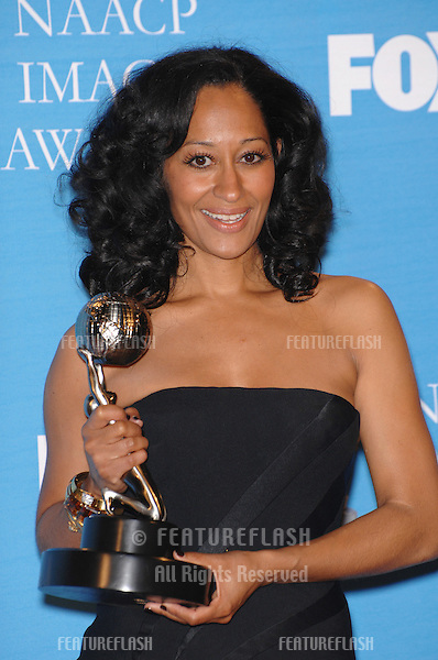 Tracee Ellis Ross at the 38th NAACP Image Awards at the Shrine Auditorium, Los Angeles. .March 3, 2007  Los Angeles, CA.Picture: Paul Smith / Featureflash
