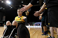 Andrew Harrison (AUS) vs Japan<br /> Australian Wheelchair Rugby Team<br /> 2018 IWRF WheelChair Rugby <br /> World Championship / Day 4<br /> Sydney  NSW Australia<br /> Wednesday 8th August 2018<br /> &copy; Sport the library / Jeff Crow / APC