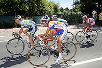 Simon Clarke, Juanma Garate, Serge Pauwels and Alberto Losada escapees during the stage of La Vuelta 2012 between Palas de Rei and Puerto de Ancares.September 1,2012. (ALTERPHOTOS/Paola Otero) NortePhoto.com<br /> <br /> **CREDITO*OBLIGATORIO** <br /> *No*Venta*A*Terceros*<br /> *No*Sale*So*third*<br /> *** No*Se*Permite*Hacer*Archivo**<br /> *No*Sale*So*third*