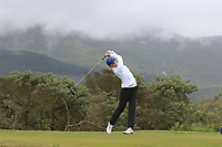 Daniella Barrett (FIN) on the 3rd tee during Matchplay Semi-Finals of the Women's Amateur Championship at Royal County Down Golf Club in Newcastle Co. Down on Saturday 15th June 2019.<br /> Picture:  Thos Caffrey / www.golffile.ie