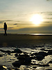 The beach at Ynyslas will always provide beautiful and sometimes dramatic scenes at low tides and sunsets. It is a large expanse of sand dunes and beaches and there is a buried forest which is sometimes exposed at very low tides.<br />