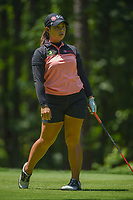 Moriya Jutanugarn (THA) watches her tee shot on 2 during round 1 of the U.S. Women's Open Championship, Shoal Creek Country Club, at Birmingham, Alabama, USA. 5/31/2018.<br /> Picture: Golffile | Ken Murray<br /> <br /> All photo usage must carry mandatory copyright credit (&copy; Golffile | Ken Murray)