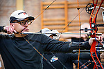 Braine l'Alleud - BELGIUM - 11 November 2018 -- Archery competition. -- PHOTO: Juha ROININEN / EUP-IMAGES