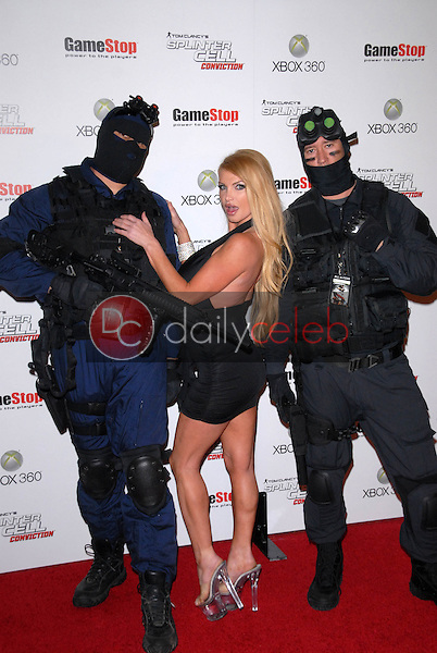 """Taylor Wayne<br /> at the Game Stop and XBOX 360 Premiere of """"Splinter Cell Conviction,"""" Les Deux, Hollywood, CA. 04-01-10<br /> David Edwards/DailyCeleb.com 818-249-4998"""