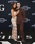 a _Danielle Jonas, Kevin Jonas 006 arrives at the Premiere Of Amazon Prime Video's Chasing Happiness at Regency Bruin Theatre on June 03, 2019 in Los Angeles, California.