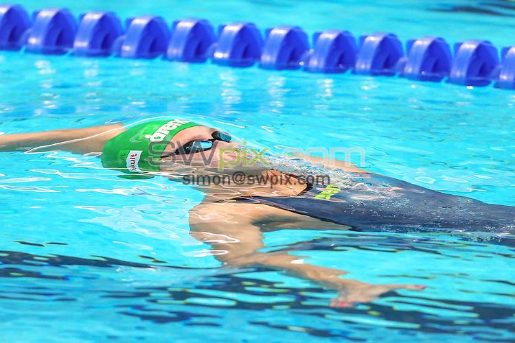 Picture by Alex Whitehead/SWpix.com - 08/08/2015 - Swimming - 16th FINA World Swimming Championships 2015 - Kazan Arena Stadium, Kazan, Russia - Russia's Daria Ustinova.